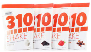 310 Shakes come in a variety of delicious flavors.