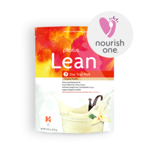 Plexus Lean Shakes come in Vanilla or Chocolate Whey, or Vegetarian Chocolate Mocha.