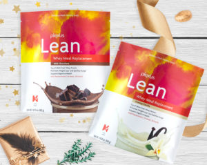 Whey-based Plexus meal replacement shakes contain 15g of protein per serving.