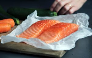salmon is high in healthy fats that can help you lose weight